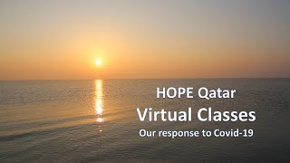HOPE Qatar : Virtual Classes : Our Response to Covid-19
