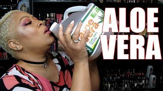 HEALTH BENEFITS OF DRINKING ALOE VERA JUICE | WHAT'S MY WEIGHT | DRINKING ALOE VERA FOR FIRST TIME