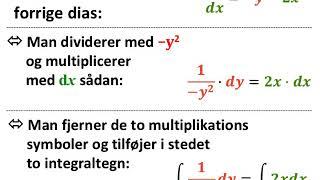 Sådan løser man en differentialligning
