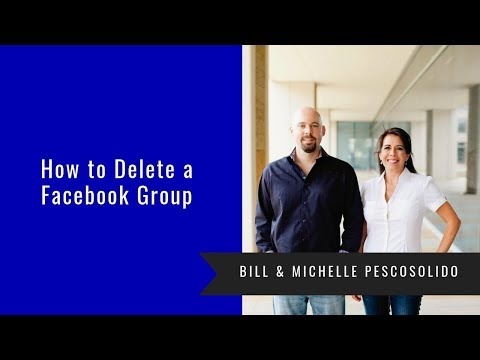 How to delete a facebook group youtube how to delete a facebook group ccuart Choice Image