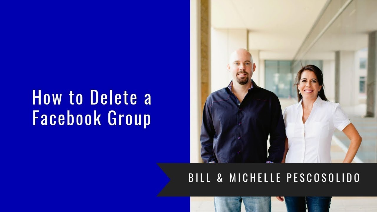 How to delete the created group 13