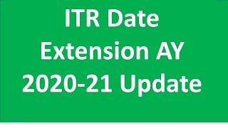 ITR Date Extension AY 2020-21 Update  I CA Satbir Singh
