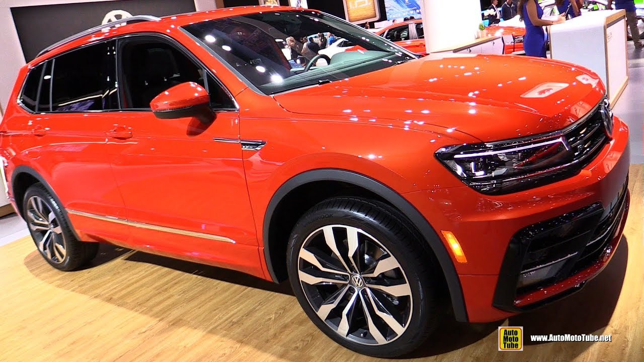2019 Volkswagen Tiguan Overview, Interior & Exterior >> 2019 Volkswagen Tiguan R Line Exterior And Interior Walkaround 2018 La Auto Show