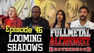 Fullmetal Alchemist Brotherhood - Episode 46 Looming Shadows - Group Reaction