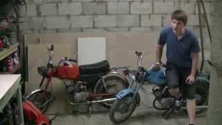2 almashtirish Moped Carpathians muhrlar