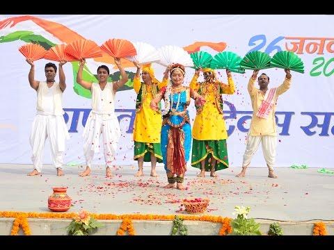 Republic Day Group Dance on O mitwa, Rang de basanti, Taal & Vande Mataram