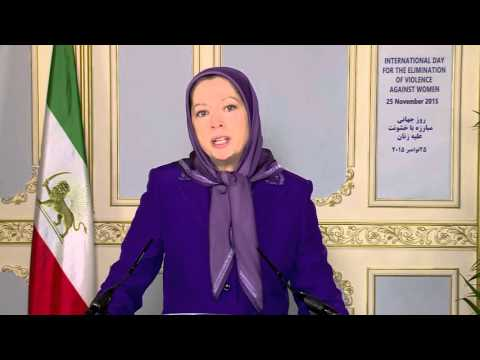 "<span class=""title"">Maryam Rajavi&#039;s message  on the International Day  25 November 2015</span>"