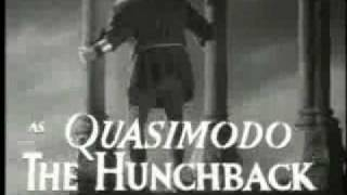 Hunchback of Notre Dame, The - Trailer (1939)