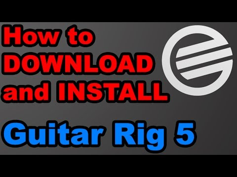Guitar Rig 5 - Download + Crack + Asio4all