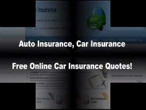 Free Auto Insurance Quotes - YouTube