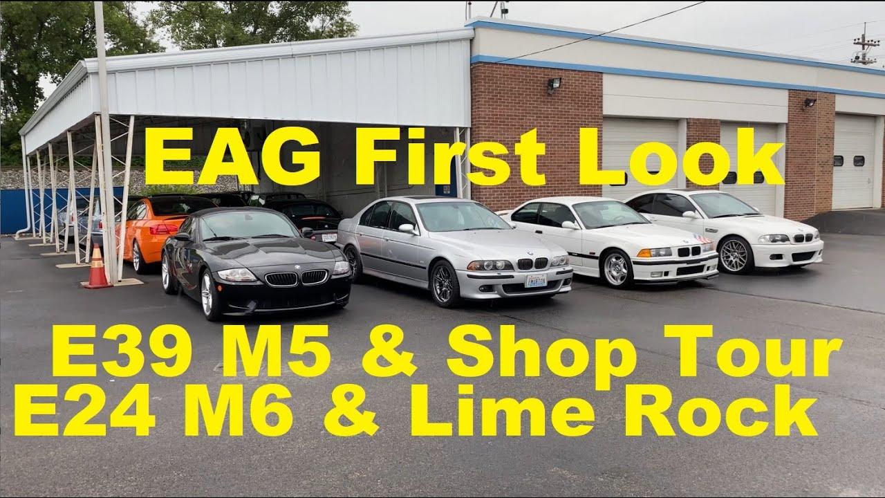 First Look: EAG HQ Shop Tour - 7 New Arrivals! E39 M5 Drive, E24 M6, 6-Speed Lime Rock M3, M3 LTW