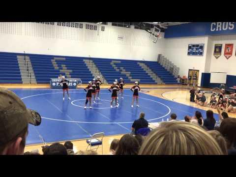 Armada varsity competitive cheer Cros-Lex 2015