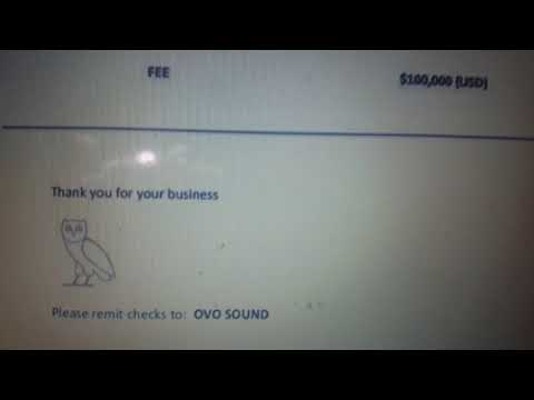 Drake sends invoice to Pusha T and Kanye West