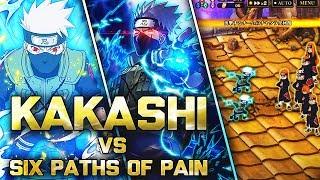 ** KAKASHI CONSTANT 150 BOOST VS PAINS *   ** Naruto Ultimate Ninja Blazing *