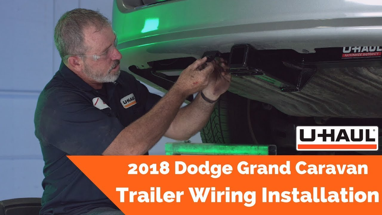 2018 dodge grand caravan trailer wiring installation Jeep Wrangler Radio Wiring