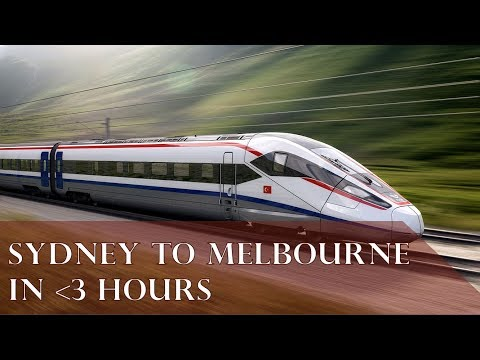 SYDNEY TO MELBOURNE HIGH SPEED RAIL (FULL ALIGNMENT)
