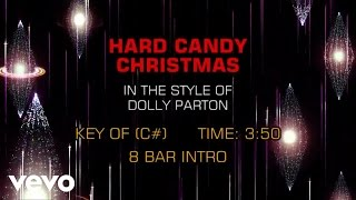 Dolly Parton - Hard Candy Christmas (Karaoke)