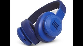 JBL E55BT Wireless Over-Ear Headphones Unboxing Review