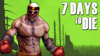 ZOMBIE BOXING ★ 7 Days to Die (2) - Zombie Games