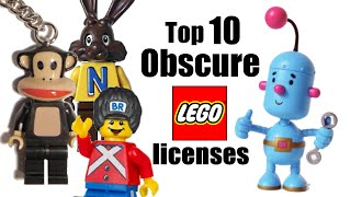 Top 10 Obscure LEGO Licensed Themes! thumbnail