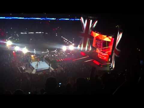 Hulk Hogan Smackdown Entrance (Live in London, 20th May 2014)
