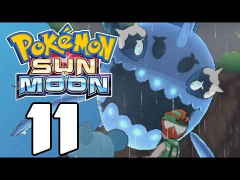 Pokémon Sun and Moon #11: Captain Lanas Water Trial!