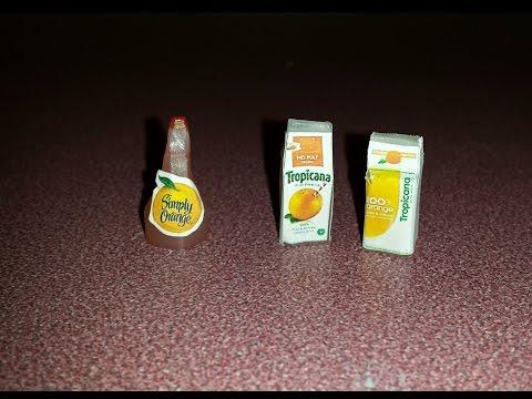 How To Make Miniature Orange Juice