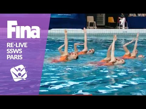 RE-LIVE | Free Team - Paris | FINA Synchronised Swimming World Series 2017