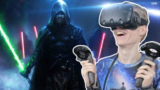 LIGHTSABER DUEL WITH A SITH LORD! | Lightblade VR: Desert Temple (HTC Vive Gameplay)