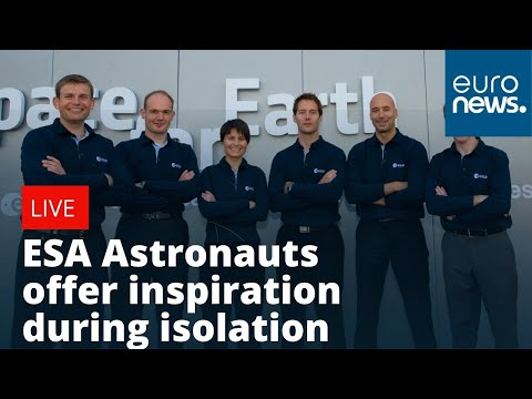 #SpaceConnectsUs ESA Astronauts give their tips for isolation
