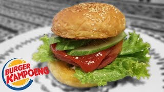 DIY BK (BURGER KING eh salah BURGER KAMPOENG) ??!!?!??!?