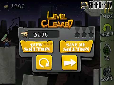 Fragger Monster Dash Level 29 Walkthrough