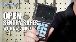 Electronic Safe Opened in 10 seconds with Black Box | Mr. Locksmith Video