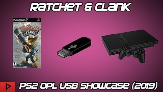 Ratchet & Clank Run Off of USB on PS2 Using OPL and FMCB (2019)