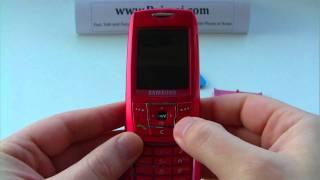 Samsung SGH-E250i, E250i Unlock & input / enter code.AVI