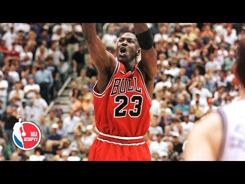 Remembering Michael Jordan's 'last shot' with the Chicago Bulls | NBA on ESPN