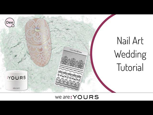 Easy Nail Art Wedding Tutorial