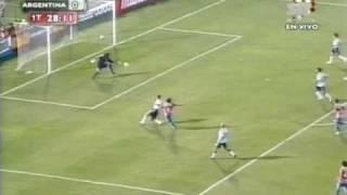 Paraguay 1 vs. Argentina 0 Eliminatorias Sudáfrica 2010 Salvador Hicar