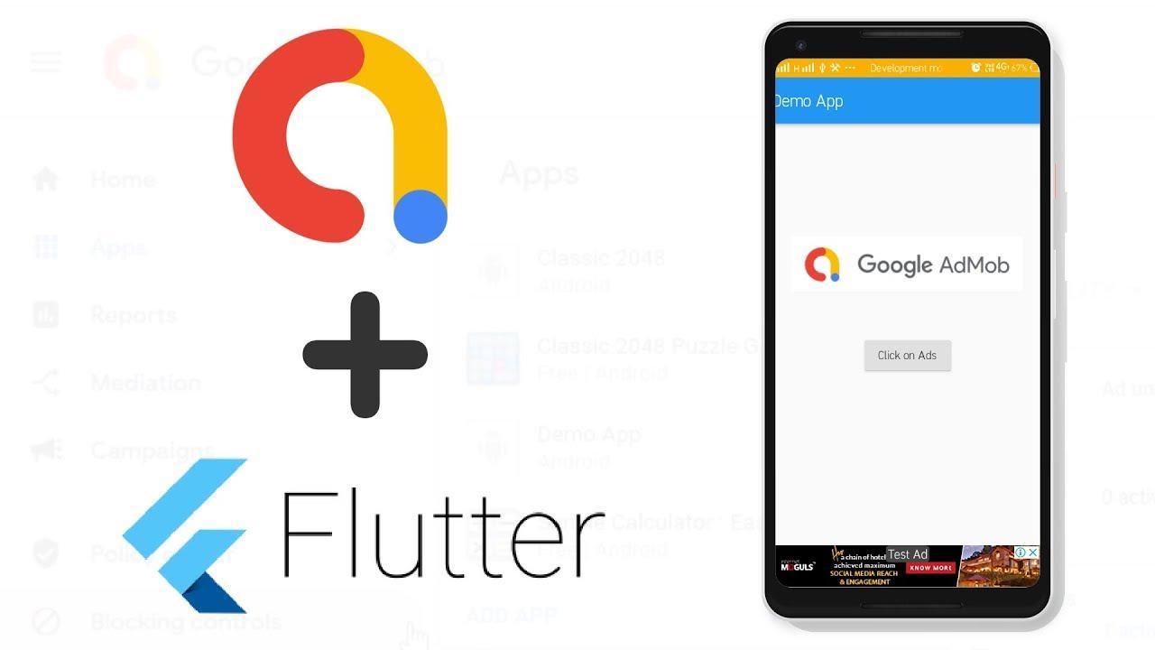 Flutter - How to Add AdMob Real Ads in Flutter App | Flutter AdMob Tutorial