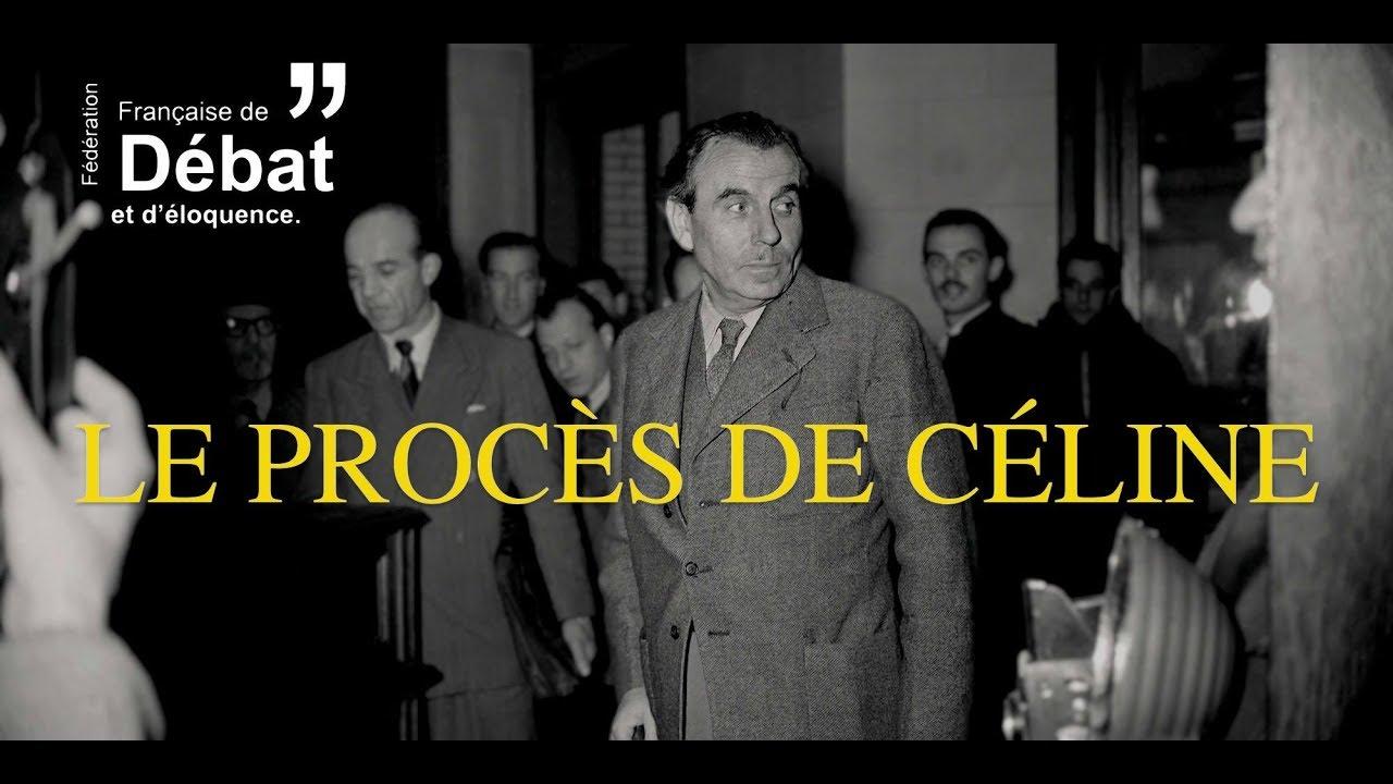 Le Proces De Louis Ferdinand Celine 2018 Film Complet Youtube