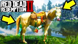 LEGENDARY GOLD HORSE IN RED DEAD REDEMPTION 2 YOU NEED!