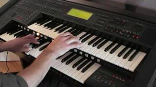 Love Confession on Yamaha Electone EL90