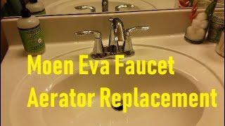 Moen Eva 6410 Faucet Aerator Upgrade Replacement Repair 137401 Youtube