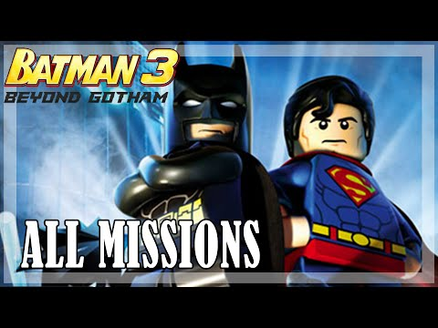 Lego Batman Beyond Gotham - All missions | Full Game