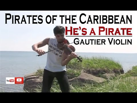 Pirates of the Caribbean Theme - Violin Cover ''He's a Pirate''Gautier Virtuosic - Violin Song