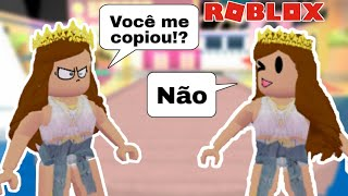 ROBLOX-I COPIED CLOTHES IN FASHION FAMOUS and GAVE BAD!!!