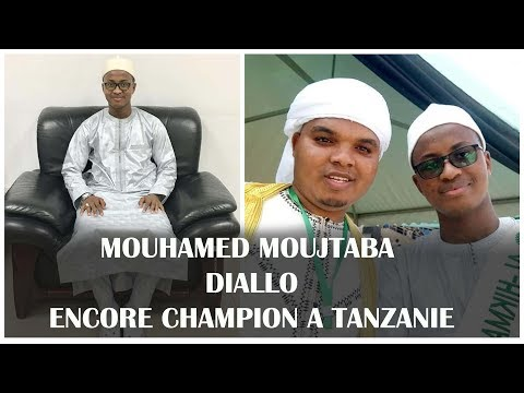 MOUHAMED MOUJTABA  DIALLO ENCORE CHAMPION A TANZANIE / Regardez s belle prestation / Mashaa'Allah