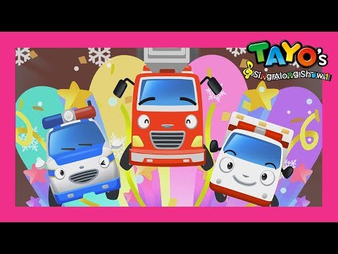 Tayo The brave cars and its Christmas! l Tayos Sing Along Show 1 l Tayo the Little Bus