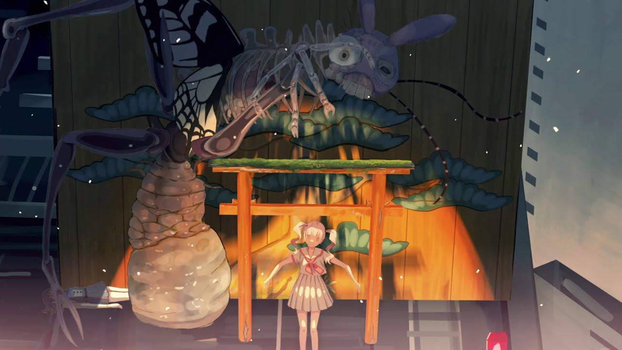 とうめいさん とうめいさん【自主制作アニメ ショートショート】