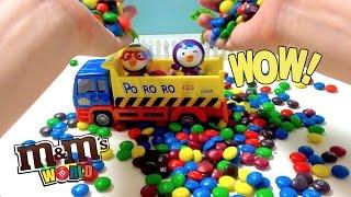 Замовити вантажівку Пороро м&м шоколад сюрприз іграшки соди